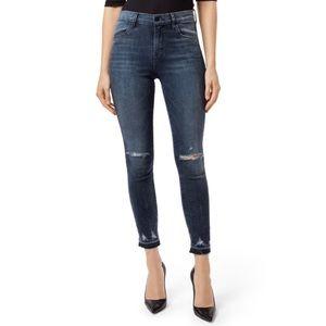 J Brand Alana High-Rise Crop Skinny